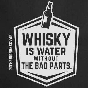 Whisky is water T-shirts - Keukenschort