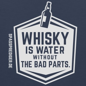 Whisky is water T-Shirts - Men's Premium Tank Top