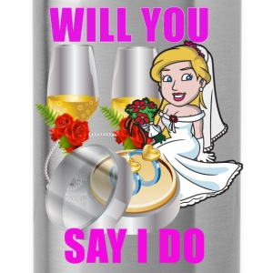 Will You Say I Do - Water Bottle