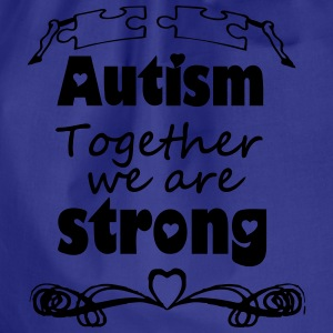 Autism  - together strong  T-Shirts - Drawstring Bag