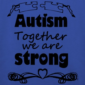 Autism  - together strong  T-Shirts - Kids' Premium Hoodie