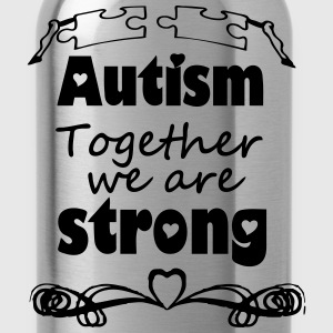 Autism  - together strong  T-Shirts - Trinkflasche