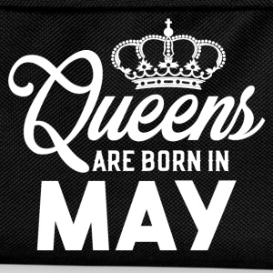 Queens Are Born In May T-Shirts - Kids' Backpack