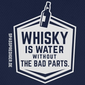 Whisky is water T-shirts - Basebollkeps