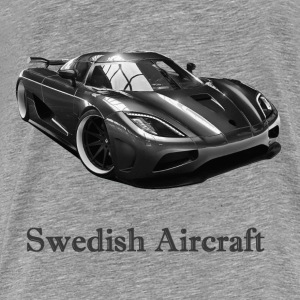 Swedish Aircraft Sweat-shirts - T-shirt Premium Homme