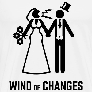 Wind Of Changes (Stag Night Bachelor Party Groom) - Men's Premium T-Shirt