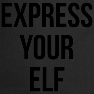 Express your elf T-Shirts - Cooking Apron