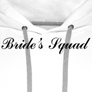 Bride's Squad Mugs & Drinkware - Men's Premium Hoodie