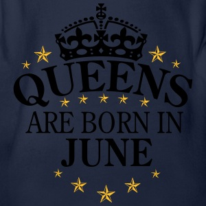 Queens June Pullover & Hoodies - Baby Bio-Kurzarm-Body