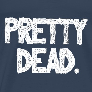 pretty dead-white Tops - Männer Premium T-Shirt