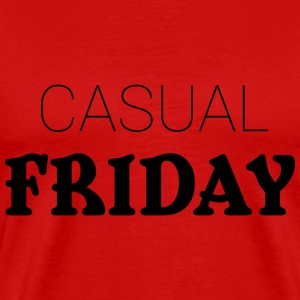 Casual Friday Toppe - Herre premium T-shirt