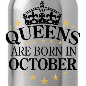 Queens October T-Shirts - Trinkflasche