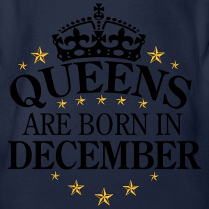 Queens December Langarmshirts - Baby Bio-Kurzarm-Body