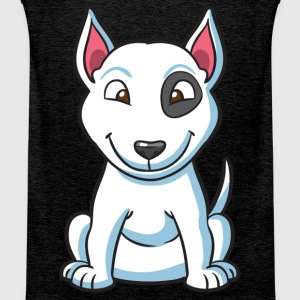 Patch the Puppy Dog - Men's Premium Tank Top