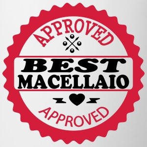 Approved best macellaio Magliette - Tazza