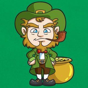St. Patricks Day leprechaun - Retro Bag