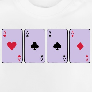 Card Game, Poker, Ace Shirts - Baby T-Shirt