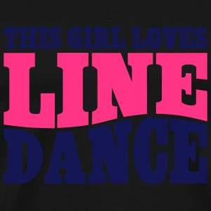 LINE DANCE LOVER Tops - Men's Premium T-Shirt