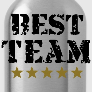 Best Team, 5 Stars, Champions, Sports, Winner T-Shirts - Water Bottle