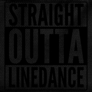 STRAIGHT OUTTA LINEDANCE Mugs & Drinkware - Kids' Backpack
