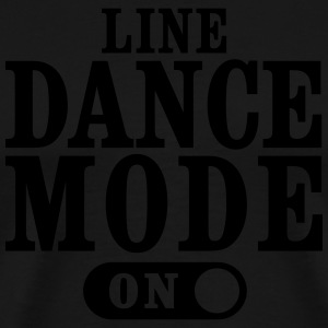 LINE DANCE MODE, ON Tops - Men's Premium T-Shirt