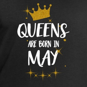 QUEENS ARE BORN IN MAY Tops - Men's Sweatshirt by Stanley & Stella