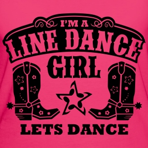 I'M A LINE DANCE GIRL Bags & Backpacks - Women's Organic T-shirt