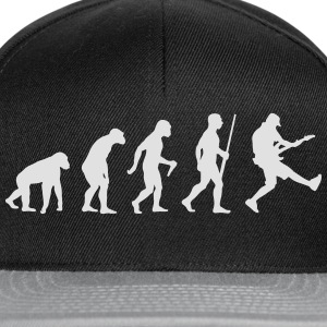 Bass Gitarrist Evolution - Snapback Cap