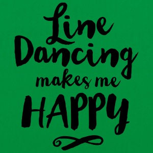 LINE DANCING MAKES ME HAPPY T-Shirts - Tote Bag
