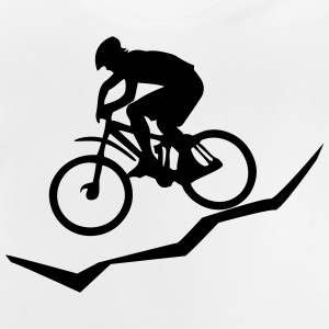 Mountainbiker Downhill - Baby T-Shirt