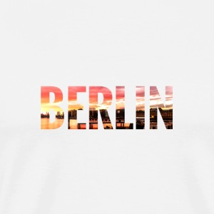 City Skyline Berlin Pullover & Hoodies - Männer Premium T-Shirt