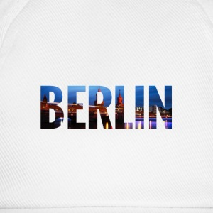 City Skyline Berlin Tops - Baseballkappe