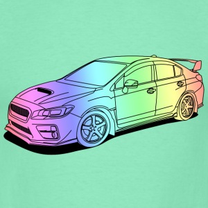 wrx sti colourful Gensere - T-skjorte for menn