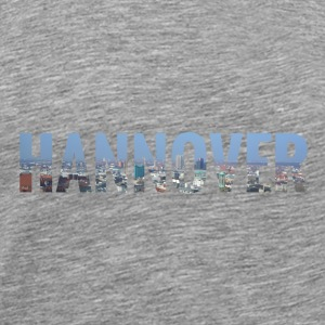 City Skyline Hannover Tops - Männer Premium T-Shirt
