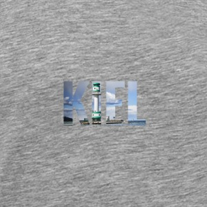 City Skyline Kiel Tops - Männer Premium T-Shirt