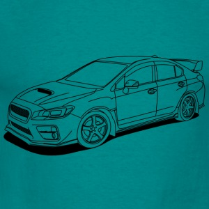 wrx sti outlines Sweaters - Mannen T-shirt