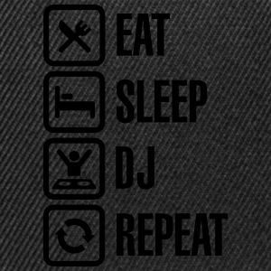 Eat Sleep DJ Repeat T-Shirts - Snapback Cap