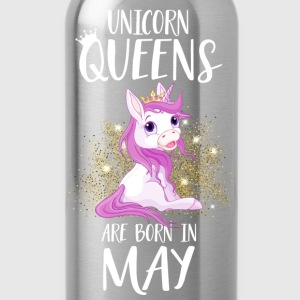 UNICORN QUEENS ARE BORN IN MAY Pullover & Hoodies - Trinkflasche