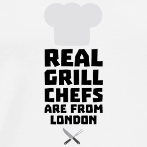 Real Grill Chefs are from London Sl16l Baby Bodysuits - Men's Premium T-Shirt