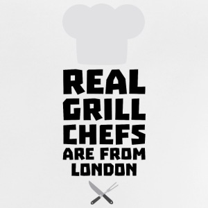 Real Grill Chefs are from London Sl16l Long Sleeve Shirts - Baby T-Shirt