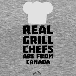 Real Grill Chefs are from Canada S0t73 Long Sleeve Shirts - Men's Premium T-Shirt