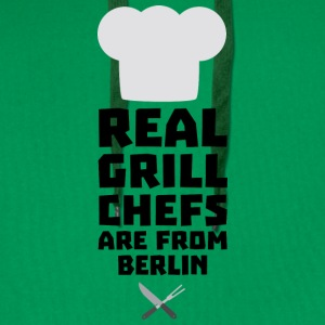 Real Grill Chefs are from Berlin Sn803 T-Shirts - Men's Premium Hoodie