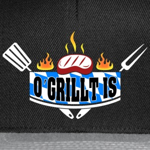 O´ GRILLT IS - Snapback Cap