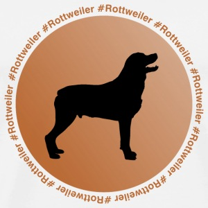 Rottweiler Mugs & Drinkware - Men's Premium T-Shirt
