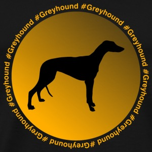 Greyhound Caps & Hats - Men's Premium T-Shirt
