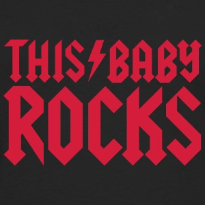 This baby rocks Baby Bodysuits - Men's Premium Longsleeve Shirt