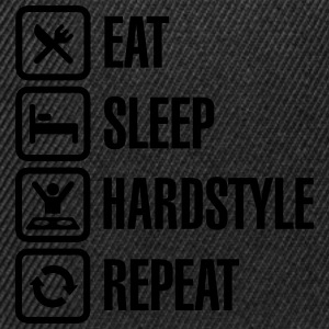 Eat Sleep hardstyle Repeat T-Shirts - Snapback Cap