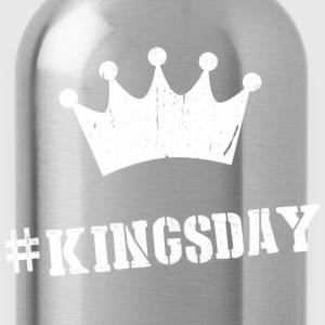 Hashtag Kingsday T-shirts - Drinkfles