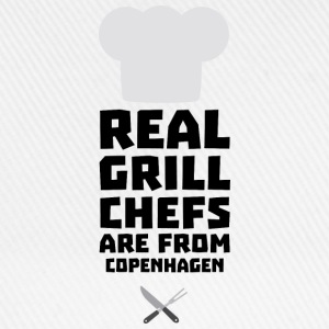 Real Grill Chefs are from Copenhagen Sjb8b Other - Baseball Cap