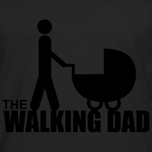 The walking dad,Daddy,gift,zombie  - Men's Premium Longsleeve Shirt